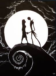 nightmare before halloween nightmare before christmas painting by corpse boy on deviantart