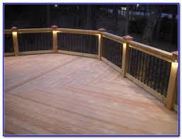 Recessed Deck Lighting Recessed Deck Lighting Low Voltage Decks Home Decorating Ideas
