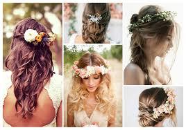 fleurs cheveux mariage mes inspirations coiffure pour un mariage team paillettes