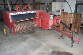 massey ferguson 124 small square baler item ca9811 sold