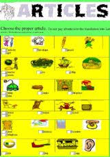 exercises and worksheets my english classes