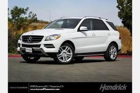 mercedes suv 2015 used 2015 mercedes m class suv pricing for sale edmunds