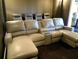 Theater Reclining Sofa Custom Theater Seating Chaise Indoor Chaise Lounge Reclining Sofa