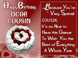 cousin birthday card birthday wishes for cousin birthday images pictures