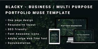 free muse template muse landing page archives free nulled themes