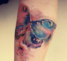 60 fascinating colourful watercolour tattoo ideas just like a