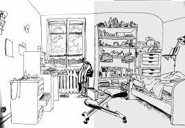 dessiner une chambre en perspective chambre en perspective dessin chaios com