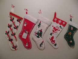 Felt Christmas Stocking Tree Decoration by 855 Best Christmas Stockings Images On Pinterest Vintage