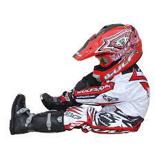 kids motocross helmet wulf wsx 4 cub childrens kids mx atv trials motocross bike