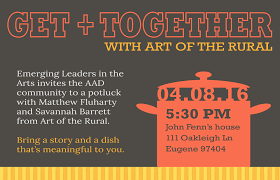 get together with art of the rural emerging leaders in the