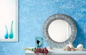 decorative coating interior for walls water based