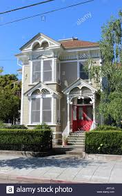 california style house eastlake or stick style house built around 1885 in napa