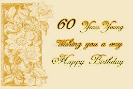 60 years birthday 60 years birthday greeting card by vickie emms redbubble
