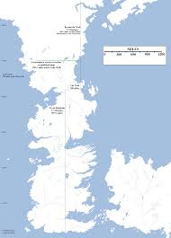 Essos Map The Size And Extent Of Westeros Atlas Of Ice And Fire