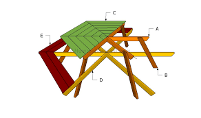 Building Plans For Hexagon Picnic Table by How To Build A Hexagon Table Howtospecialist How To Build