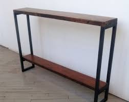 very small console table narrow console table etsy