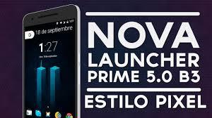 launcher prime apk launcher prime 5 0 beta 5 apk estilo pixel launcher y