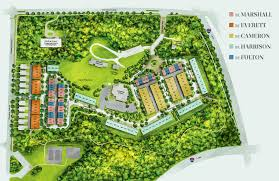 site plan grosvenor heights bethesda townhomes eya
