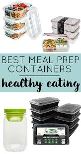 Container For Food Storage Fitness Meal Prep Containers For Healthy Living Portion Control
