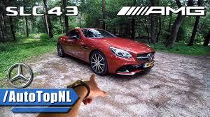 lexus is 200 turbo dane mercedes amg slc 43 review pov test drive by autotopnl youtube