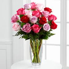 vera wang flowers the ftd captivating color bouquet by vera wang vase included