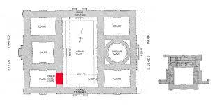 Floor Plan Buckingham Palace England U0027s Versailles Lord Thomas Grey U0027s Regiment Of Foote