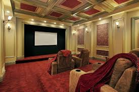 Home Theater Decor Pictures 27 Home Theater Room Design Ideas Pictures