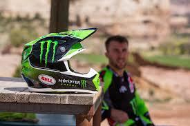 monster helmet motocross bell helmets releases eli tomac replica moto 9 helmet gd2