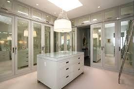 Modern Closet Door Modern Spaces With Mirrored Closet Doors