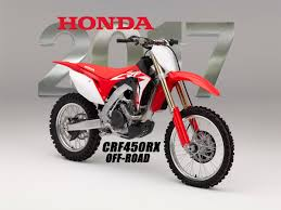 honda motocross gear dirt bike magazine 2017 honda crf450rx off road racer