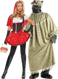 Werewolf Halloween Costumes Girls 50red Riding Hood Granny Wolf Couples Costumes Party