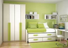 Small Bedroom Size In Meters Small Bedroom With Dark Aquamarine Paint Wall Combined Large Glass