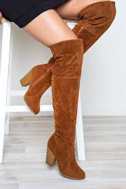 s boots knee high brown locklyn suede knee high boots shop priceless