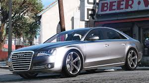 2010 Audi Wagon 2010 Audi A8 Fsi Add On Replace Gta5 Mods Com