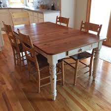 Ethan Allen Kitchen Tables by Ethan Allen Farmhouse Pine Collection Dining Table Chairs And