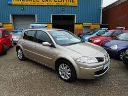 used renault megane 5 doors for sale motors co uk