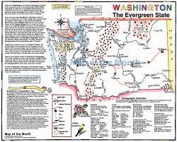 Spokane Washington Map Washington Map Maps For The Classroom