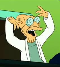 Professor Farnsworth Meme - crazy the simpsons gif by jorin find download on gifer