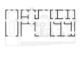 Falling Water Floor Plan Pdf Autocad 2d House Plan Pdf