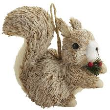 nature u0027s merriment pier 1 natural squirrel ornament pinterest