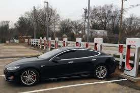 tesla electric car sullivan continues sustainability efforts with tesla charging