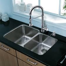 Kitchen Sink With Faucet Set by Vigo Vg15309 32 In Undermount Stainless Steel Double Kitchen Sink