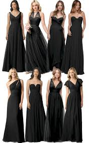 black bridesmaid dresses black bridesmaid dress ideas oosile