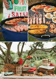 three wedding reception menu ideas part 2 backyard barbecue