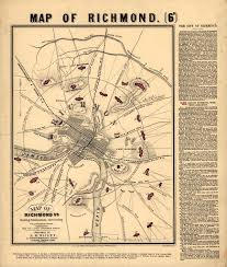 Richmond Ky Map Old Map Of Richmond Va Richmond Va Pinterest