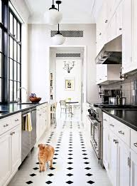 small black and white kitchen ideas striking eight townhouse in the east side ny