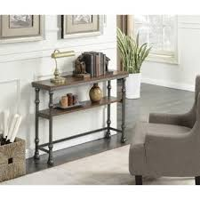 house of hton console table long behind the couch tables wayfair