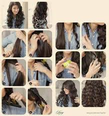 wand curled hairstyles wand curls step by step hair tutorials 3 pinterest wand
