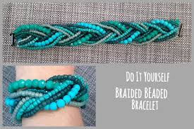 braided bracelet with bead images Diy beaded braided bracelet runaway teacher jpg
