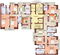 High Rise Floor Plans by Paramount Floor Plans By Parsvnath Delhi India